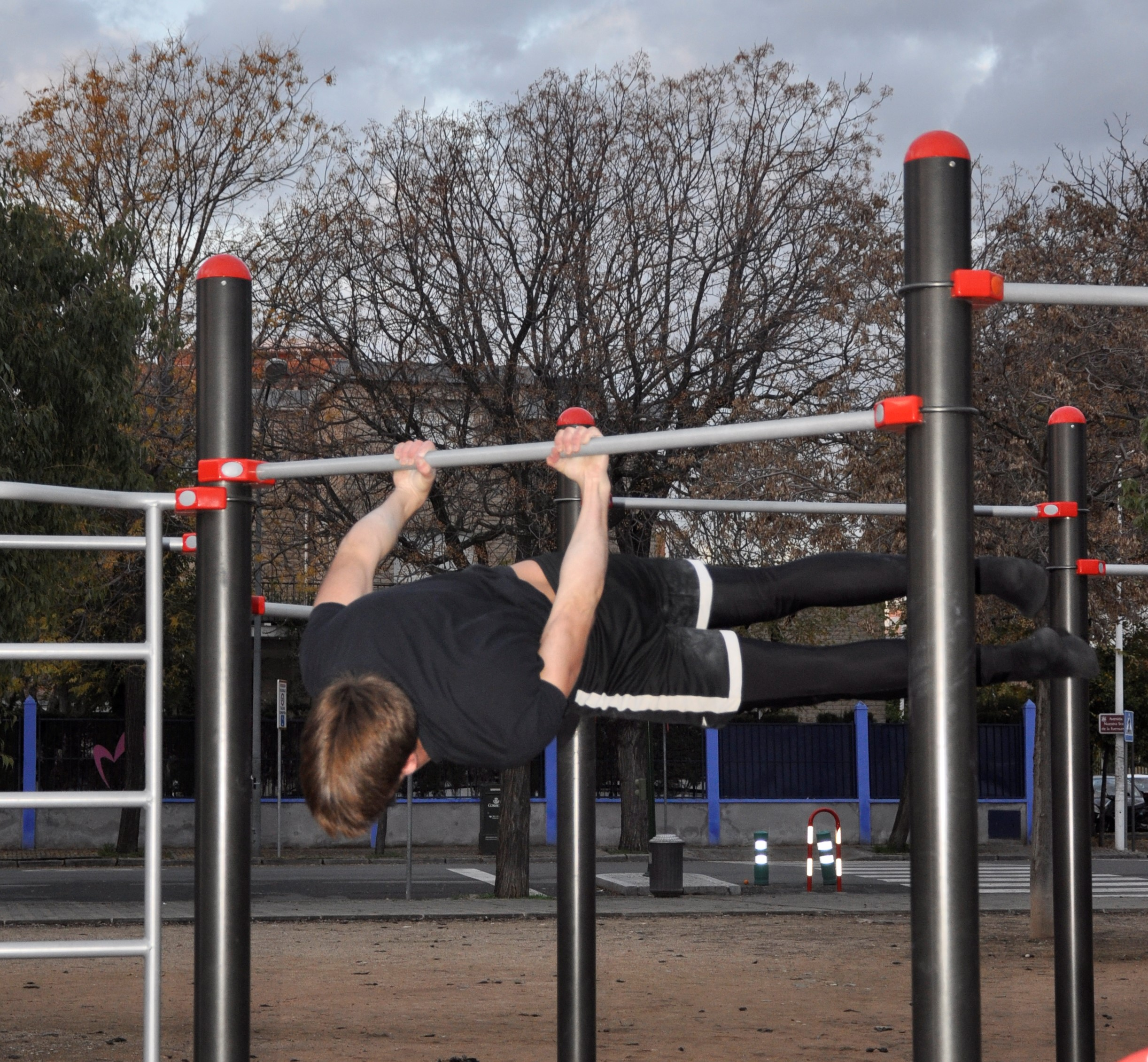 Puesta en valor Parque Street workout-Calistenia SURESTE