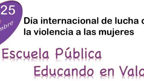"""Marchas Violeta """"No es No"""""""